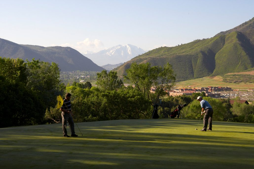 Golfing Glenwood Springs Colorado Golf Courses