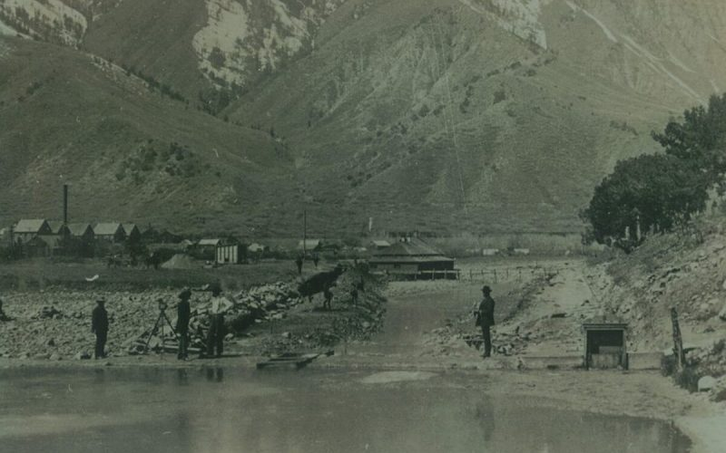 Glenwood Hot Springs Pool in 1888