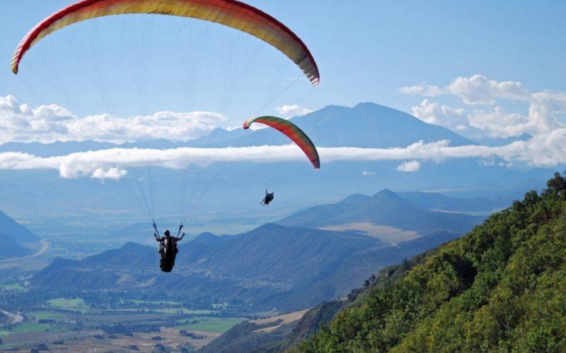 Glenwood Springs Paragliding