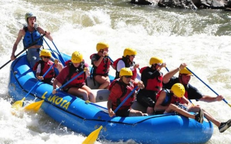 Glenwood Springs White Water Rafting