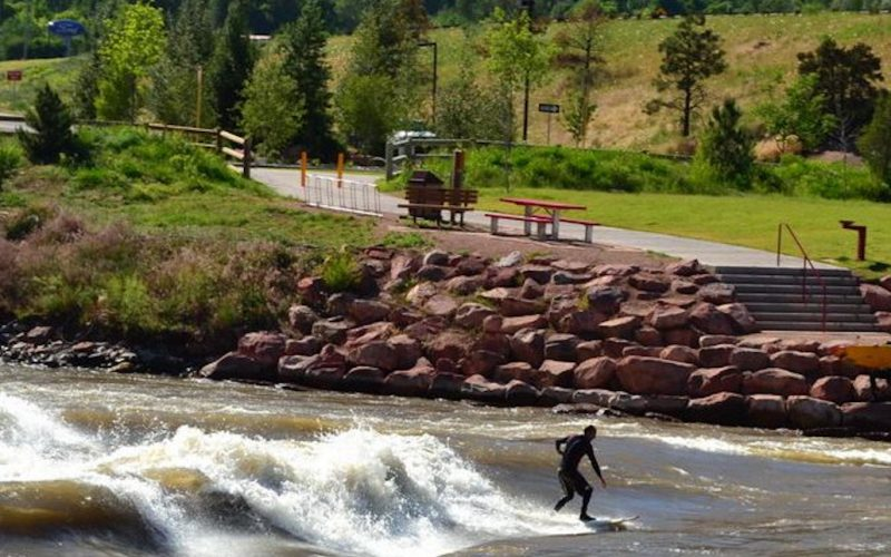 Surfing in Glenwood Springs, CO