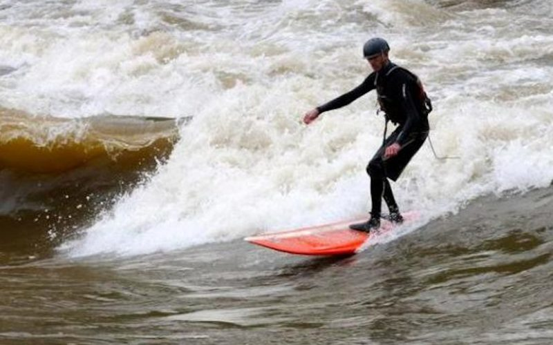 Surfing the Colorado River