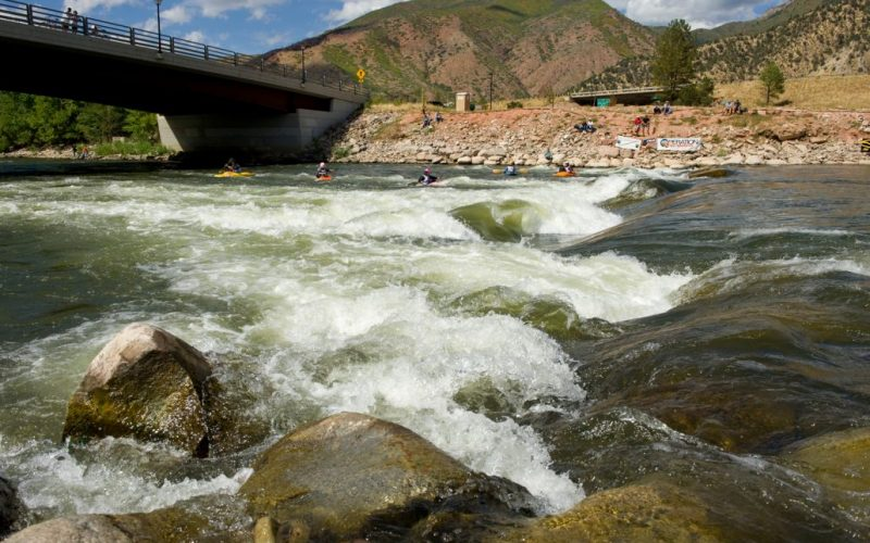 Glenwood Whitewater Park Water Flow