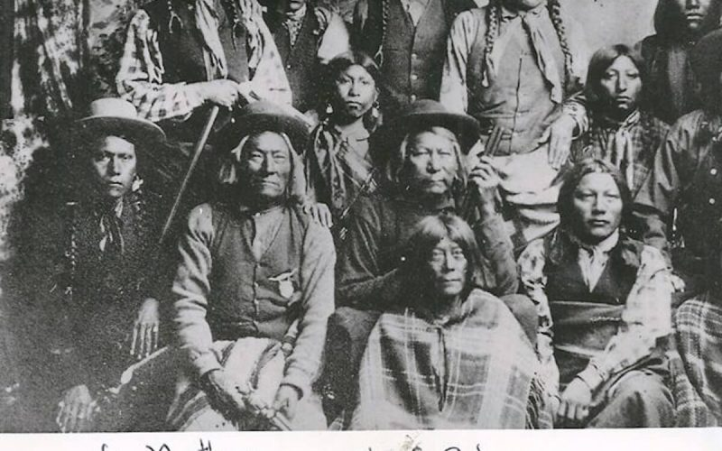Chief Colorow with group