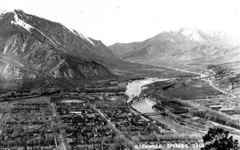 Glenwood Springs and Colorado River