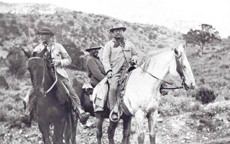 Teddy Roosevelt hunting near Glenwood Springs