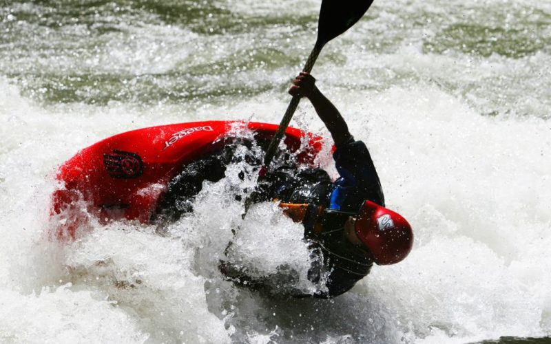 Glenwood Springs Kayaker