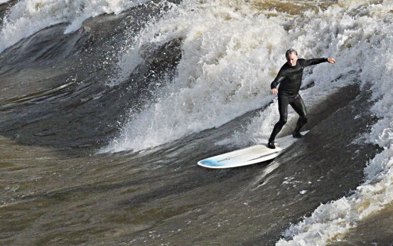Surfing in Glenwood Springs, Colorado
